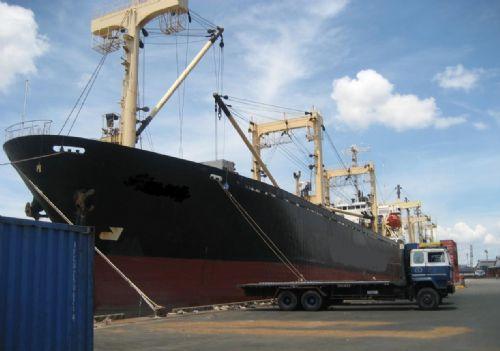 出售双甲板杂货船1990年日本造
